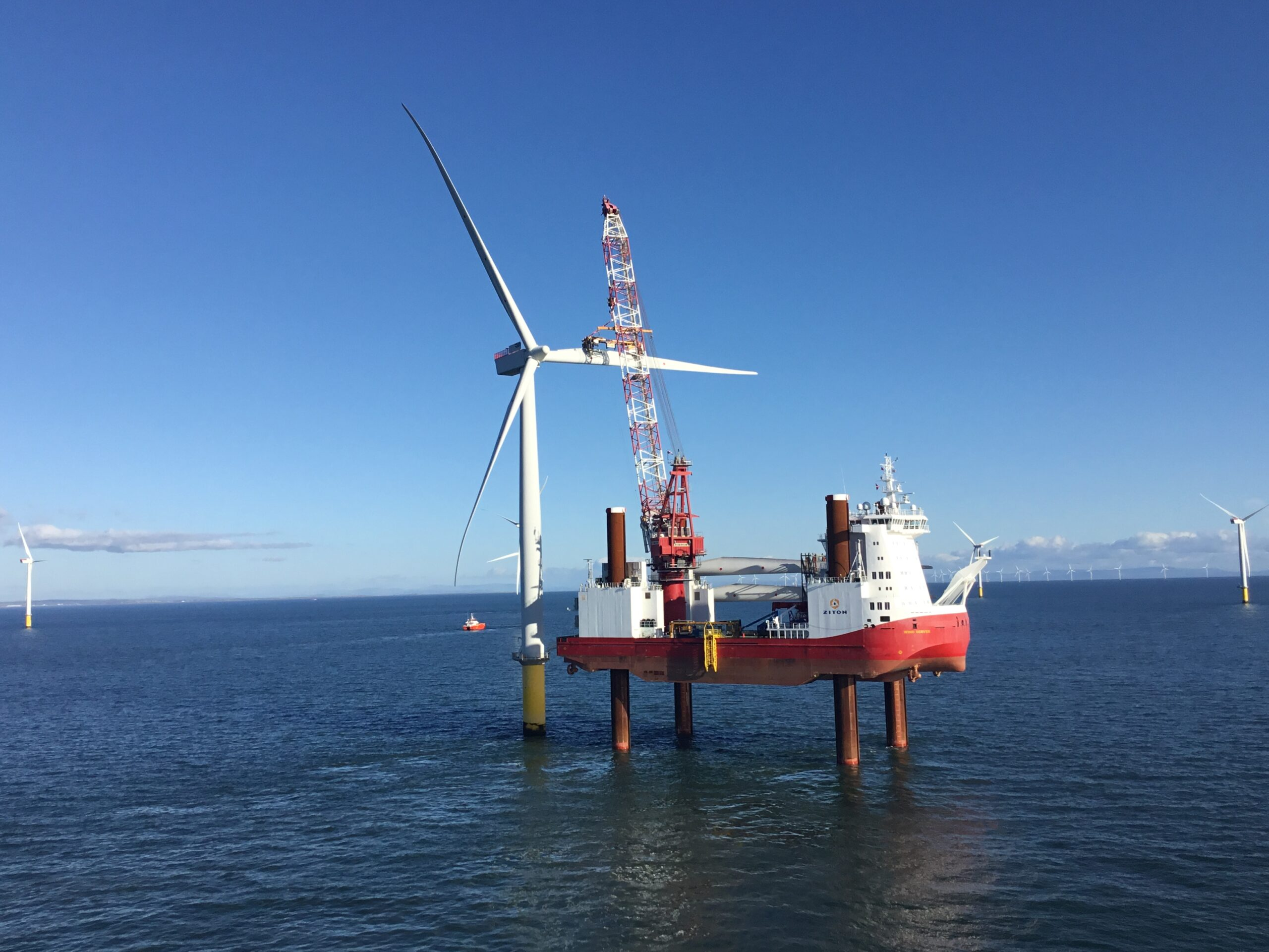 Siemens Gamesa and ZITON sign contract for Meerwind blade upgrade campaign